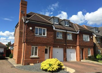 Thumbnail 4 bed semi-detached house to rent in Cranbourne Close, Hersham, Walton-On-Thames