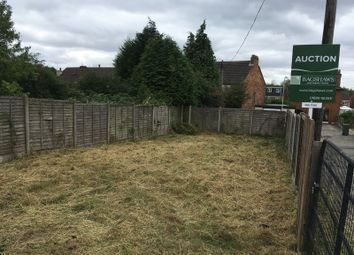 Thumbnail Land for sale in Edward Street, Albert Village, Swadlincote