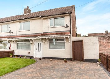 Thumbnail 3 bed semi-detached house for sale in Reynoldston Avenue, Stockton-On-Tees