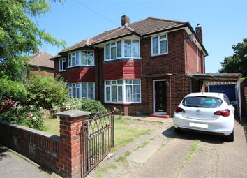 Thumbnail 3 bed semi-detached house for sale in Clare Road, Stanwell, Staines-Upon-Thames, Surrey