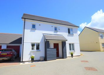 Thumbnail 3 bed detached house for sale in Glanville Road, Camborne, Cornwall