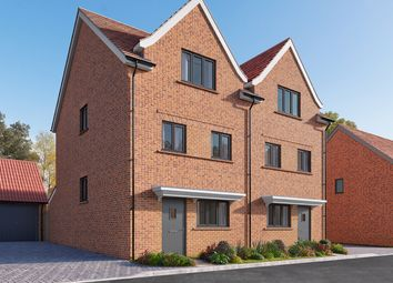 "Thumbnail 4 bed semi-detached house for sale in ""The Elsenham"" at Wycke Hill, Maldon"