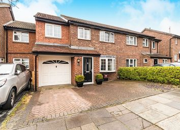 Thumbnail 4 bed semi-detached house to rent in Ashurst Close, Crayford, Dartford