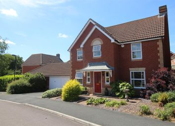 Thumbnail 4 bedroom detached house for sale in Standen Way, St Andrews Ridge, Swindon