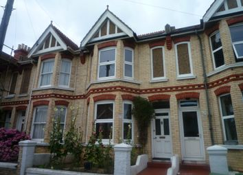 Thumbnail 3 bed terraced house to rent in Frith Road, Hove