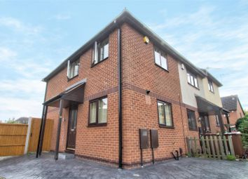Thumbnail 2 bedroom town house for sale in Towlsons Croft, Old Basford, Nottingham