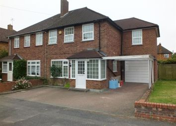 Thumbnail 4 bed semi-detached house to rent in The Larches, Uxbridge, Middlesex