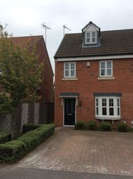 Thumbnail 3 bed terraced house to rent in Pools Brook Park, Kingswood, Hull