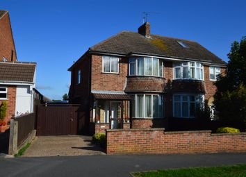 Thumbnail 3 bed semi-detached house for sale in Atherstone Road, Loughborough