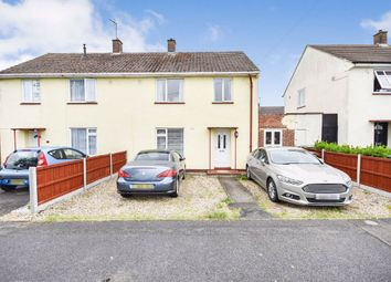 Thumbnail 3 bed semi-detached house for sale in Ashley Avenue, Corby, Northamptonshire