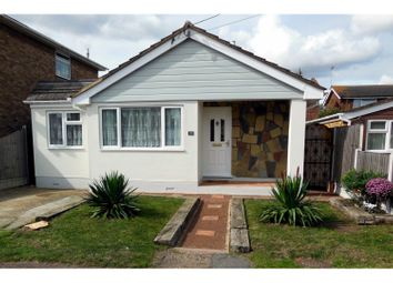 Thumbnail 3 bed detached bungalow for sale in Zelham Drive, Canvey Island