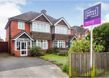 3 bed semi-detached house for sale in Winchester Road, Upper Shirley, Southampton SO16