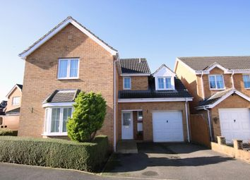 Thumbnail 4 bedroom detached house for sale in Rye Close, Sleaford