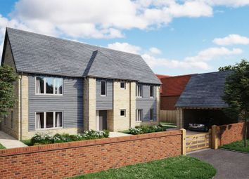 Thumbnail 4 bed detached house for sale in St. James Way, West Hanney, Wantage