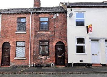 Thumbnail 2 bed terraced house for sale in Elliott Street, Newcastle, Staffs
