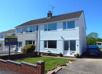 Thumbnail 3 bed semi-detached house for sale in Wellfield, Bishopston, Swansea
