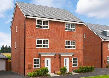 "Thumbnail 4 bed semi-detached house for sale in ""Haversham"" at Dunsmore Avenue, Bingham, Nottingham"
