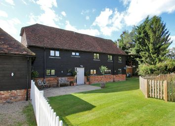 Thumbnail 5 bed barn conversion for sale in Coursehorn Barn, Coursehorn Lane, Cranbrook, Kent