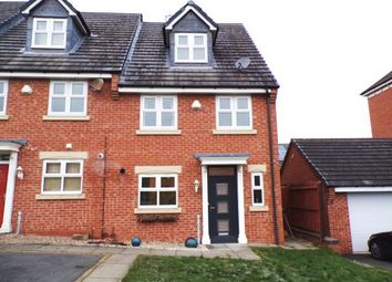 Thumbnail 4 bed end terrace house for sale in Lakeview Chase, Hamilton, Leicester