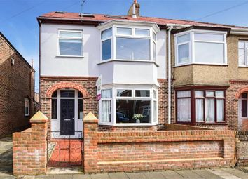 Thumbnail 4 bed semi-detached house for sale in Fawley Road, Portsmouth, Hampshire