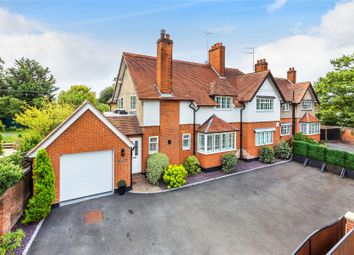 Thumbnail 4 bed semi-detached house for sale in Chobham, Surrey