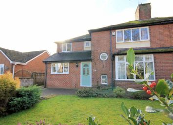 Thumbnail 4 bed semi-detached house for sale in St. Anthonys Drive, Newcastle-Under-Lyme