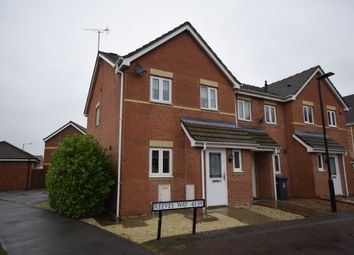 Thumbnail 3 bed town house to rent in Reeves Way, Armthorpe, Doncaster