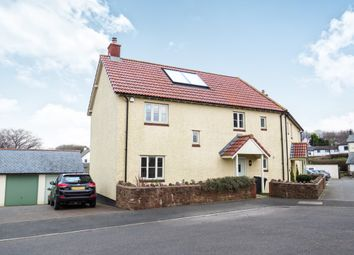 Thumbnail 4 bed semi-detached house for sale in Meadow Close, Wheddon Cross, Minehead