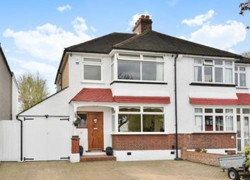 Thumbnail 3 bed semi-detached house for sale in Links View Road, Shirley, Croydon