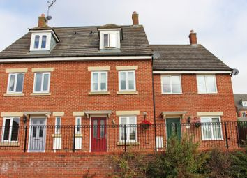 Thumbnail 3 bed town house for sale in Farnborough Drive, Middlemore, Daventry