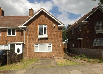 Thumbnail 3 bed end terrace house for sale in Swancote Road, Stechford, Birmingham, West Midlands