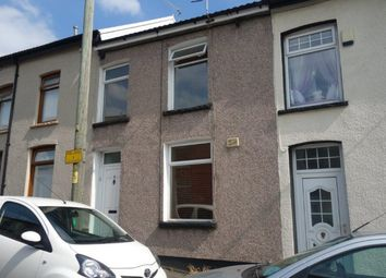 Thumbnail 3 bed terraced house to rent in Chapel Street, Penygraig