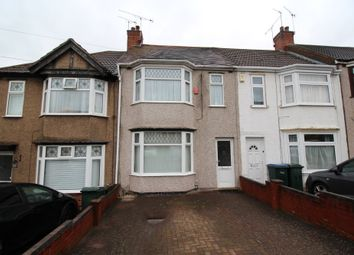 Thumbnail 3 bed terraced house for sale in Dulverton Avenue, Coventry