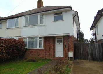 Thumbnail 3 bed semi-detached house to rent in Lymington Gardens, Stoneleigh, Epsom