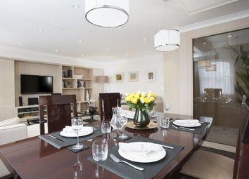 Thumbnail 4 bedroom flat to rent in Beaufort Gardens, London