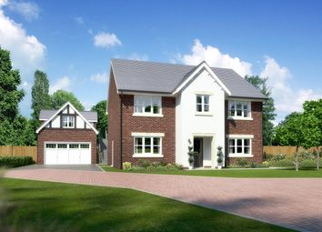 "Thumbnail 5 bed detached house for sale in ""Millwood"" at Padgbury Lane, Congleton"