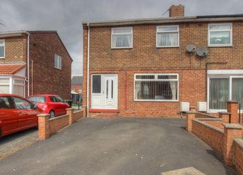 Thumbnail 2 bed semi-detached house for sale in Lynn Crescent, Cassop, Durham