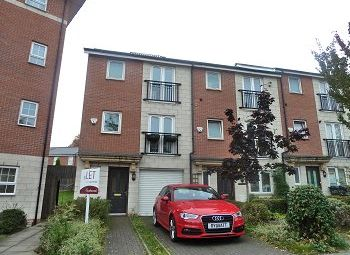Thumbnail 3 bed town house to rent in Springmeadow Road, Edgbaston, Birmingham