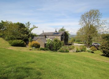 Thumbnail 5 bed farmhouse for sale in Allescholes Road, Todmorden