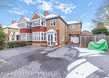 Thumbnail 4 bed semi-detached house for sale in Chestnut Avenue, Ewell, Epsom