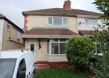 Thumbnail 3 bedroom semi-detached house to rent in Moreton Road, Wolverhampton