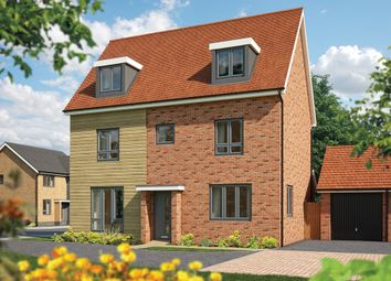 "Thumbnail 5 bed detached house for sale in ""The Yew"" at Fields Road, Wootton, Bedford"