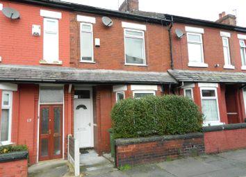 Thumbnail 3 bed terraced house to rent in Balleratt Street, Levenshulme, Manchester