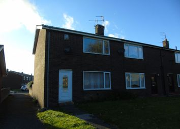 Thumbnail 2 bed terraced house for sale in Bentinck Crescent, Pegswood, Morpeth