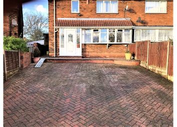 Thumbnail 3 bedroom semi-detached house for sale in Essex Avenue, West Bromwich
