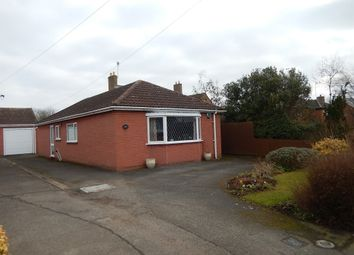 Thumbnail 2 bed detached bungalow for sale in Crown Lane, Thurlby, Bourne