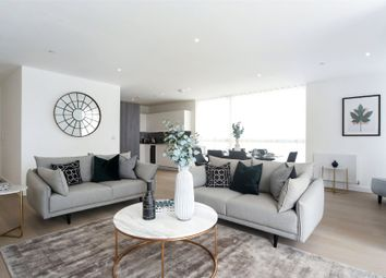 Thumbnail 3 bed flat for sale in River Gardens Walk, Greenwich, London