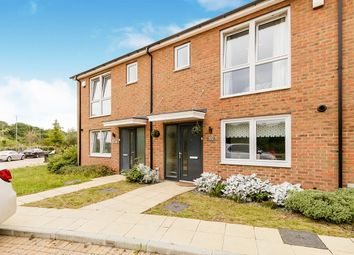 Thumbnail 3 bed terraced house for sale in Castleridge Drive, Greenhithe, Kent