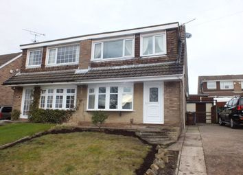 Thumbnail 3 bed semi-detached house for sale in Mendip Road, Clayton-Le-Woods, Chorley