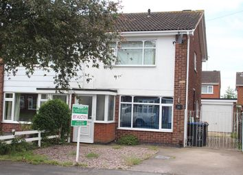 Thumbnail 3 bed semi-detached house for sale in Glenbarr Close, Hinckley